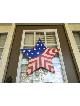 Patriotic Star Hanger